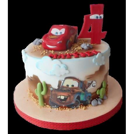 disney cars cake 2 6
