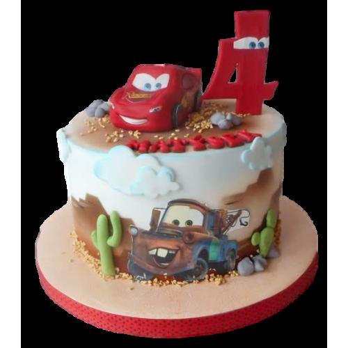 disney cars cake 2 7