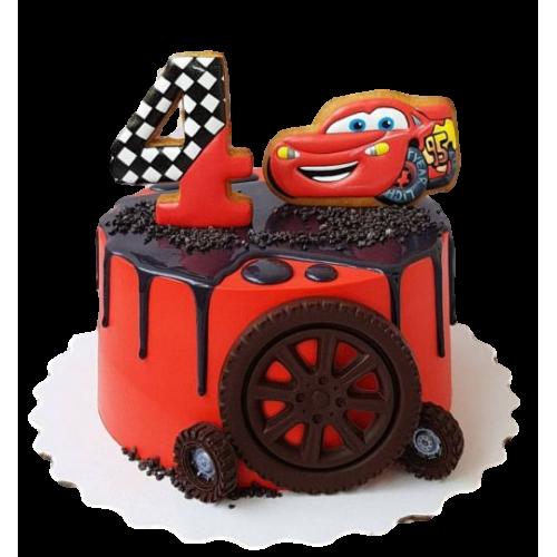 disney cars cake 6 7