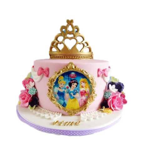 Disney Princesses cake 10