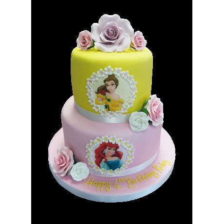 disney princesses cake 21 6