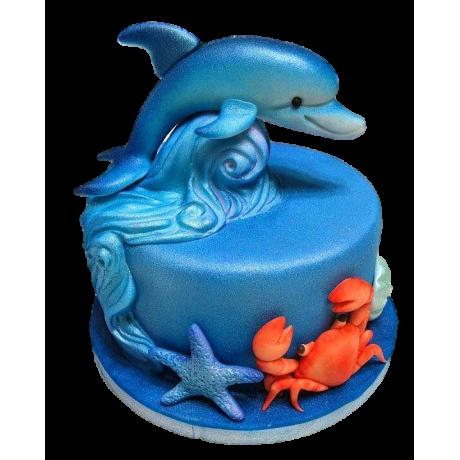 dolphin cake 6