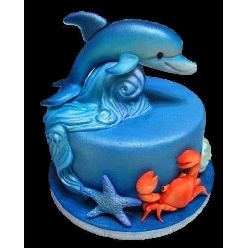 dolphin cake 7