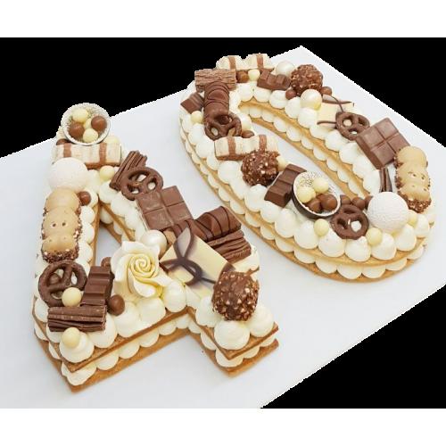 double figure 40 cake 7