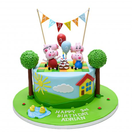 peppa pig cake 21 6
