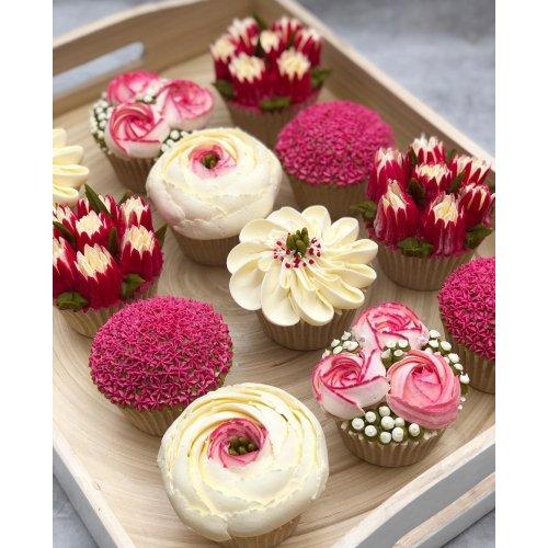 Cupcakes Flowers 2