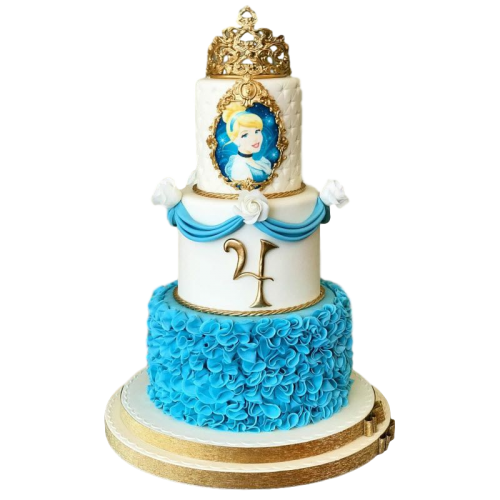 cinderella cake 5 7