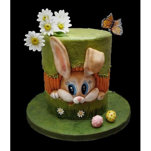 easter bunny cake 1 7