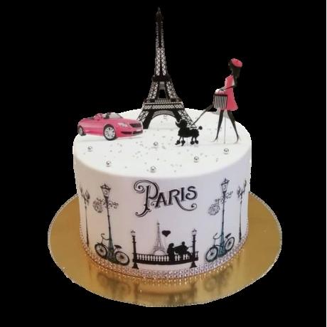 eiffel tower cake 6