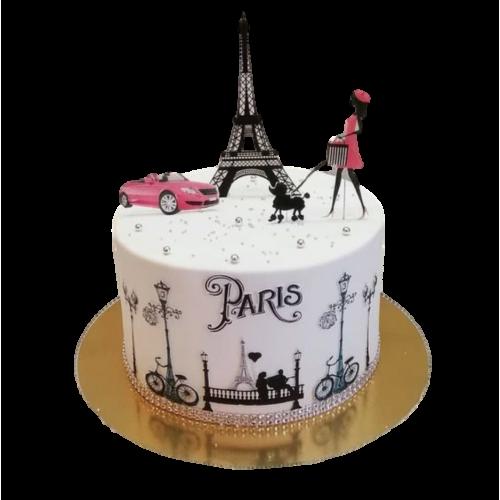 eiffel tower cake 7