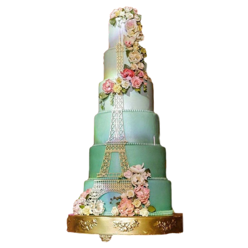Eiffel Tower Cake 2