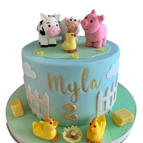farm animals cake 6 6