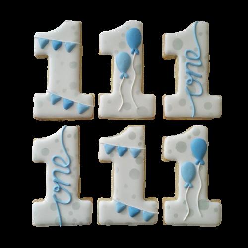 1st birthday cookies 7