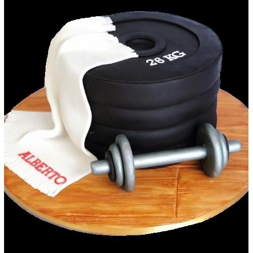 Fitness cake 3