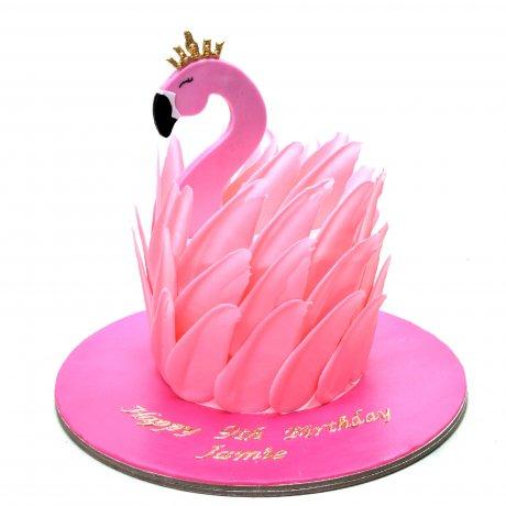 flamingo cake 10 6