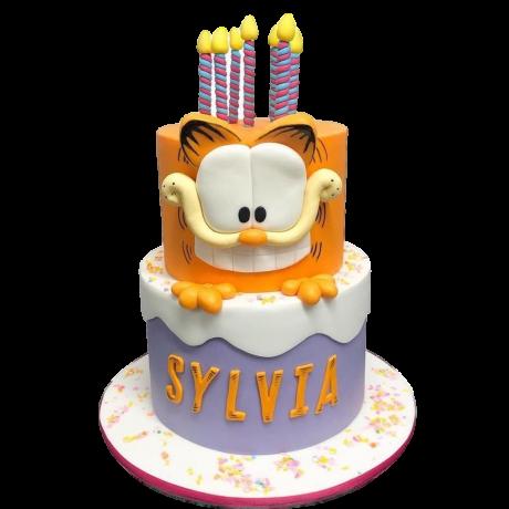 garfield cake 4 6
