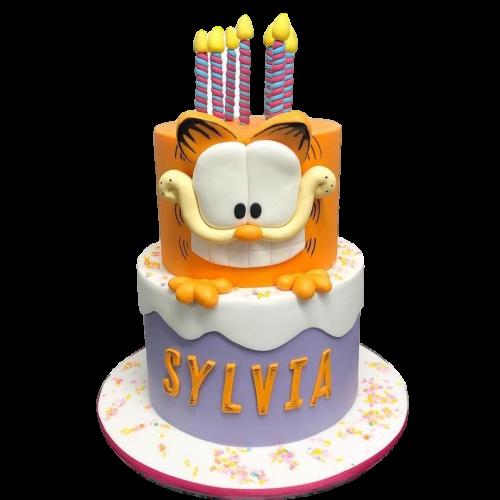 garfield cake 4 7
