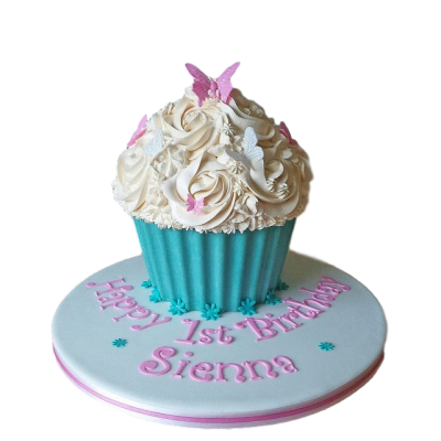 Cupcake shape cake