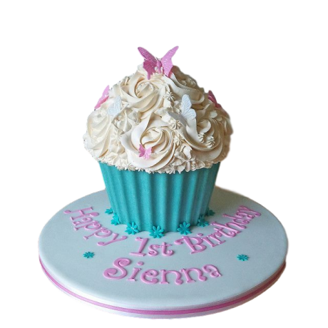 cupcake shape cake 6