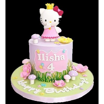 Hello Kitty Cake 14