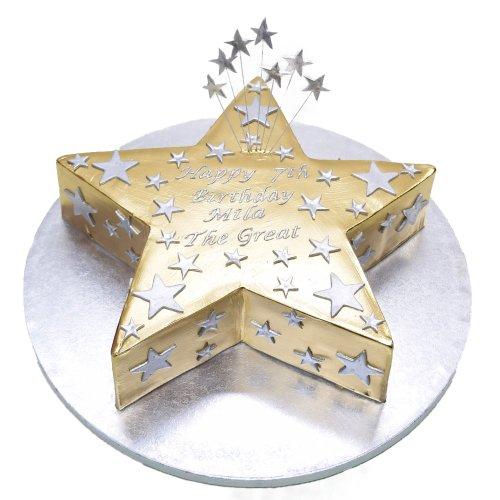 gold star cake 7