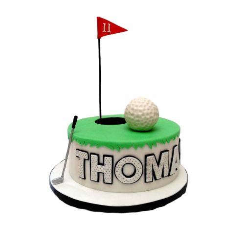 golf cake 5 6