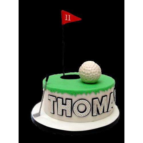 golf cake 5 7