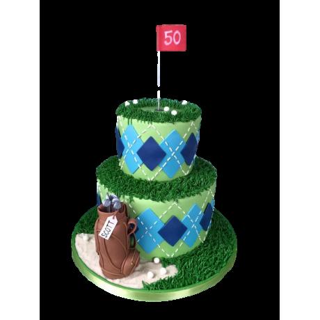 golf cake 4 6