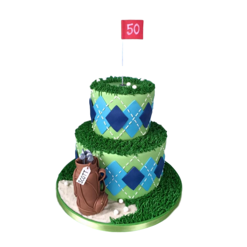golf cake 4 7