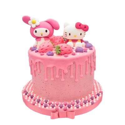 Hello Kitty Cake 9
