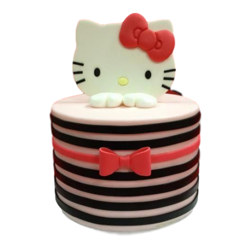 Hello Kitty Cake 10