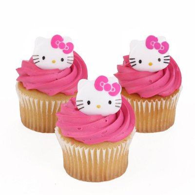 Hello Kitty Cupcakes 2