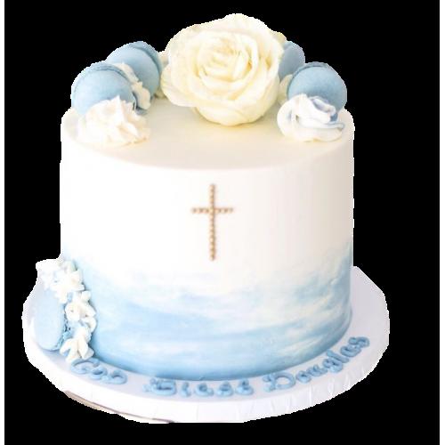 1st communion cake 2 7