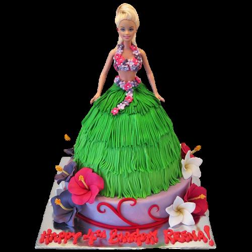 Hula Girls Cake 2