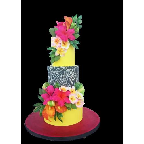Hula Luau Cake