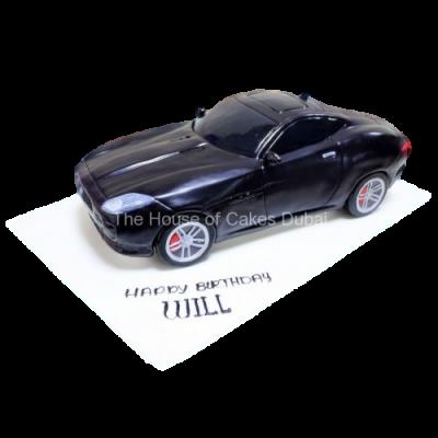 Jaguar F type cake