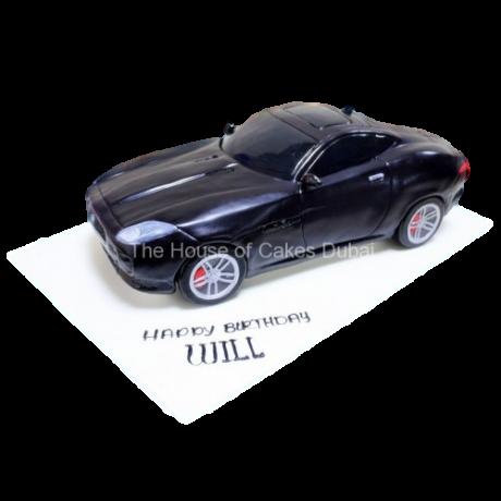 jaguar f type cake 6
