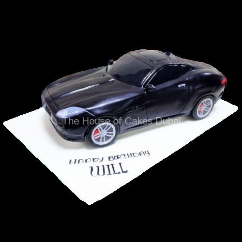 jaguar f type cake 7
