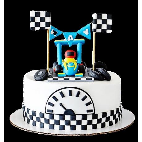 karting cake 6