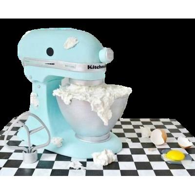 KitchenAid Mixer cake 2