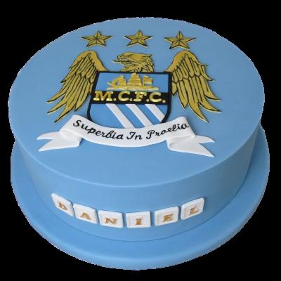 Manchester City cake 1