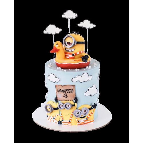 minion cake 6 13