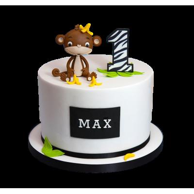 Monkey cake 4