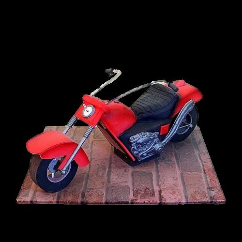 motorbike cake 7
