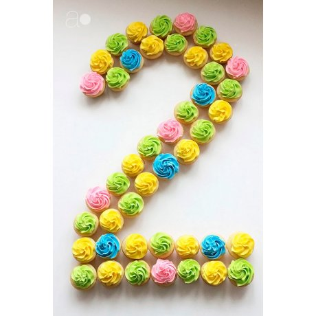 cupcakes number 20 6