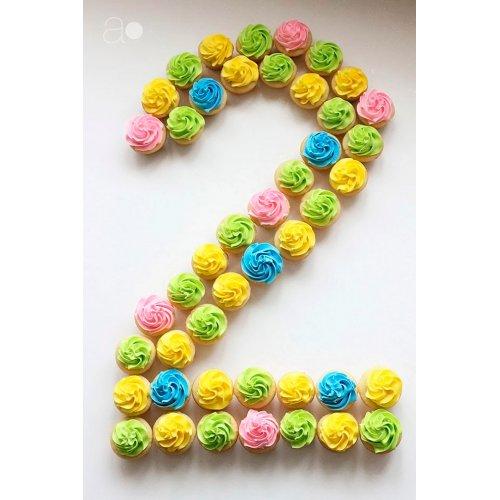 cupcakes number 20 7