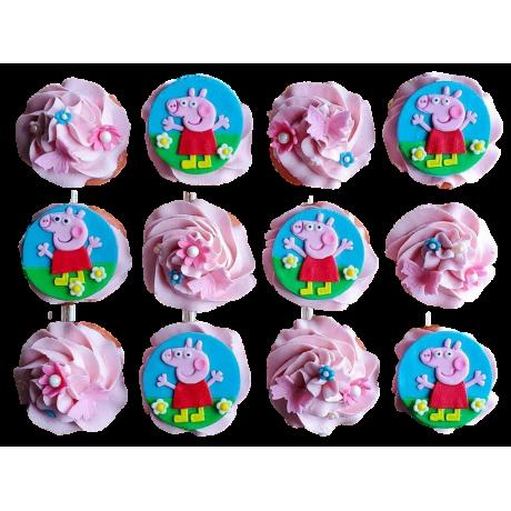 peppa pig cupcakes 6