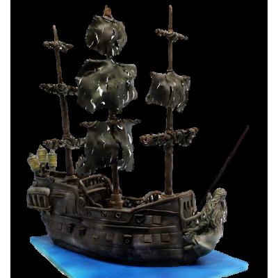 Pirate Ship Cake 6