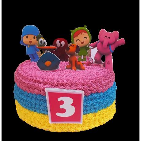 pocoyo cake 3 6
