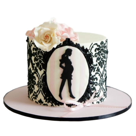 pregnant and fabulous cake 6